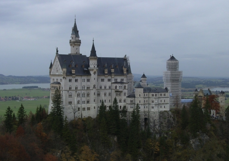 Füssen - Schloss Neuschwanstein